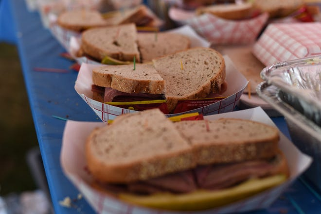 Sandwiches, such as corned beef, pastrami, smoked turkey and pulled beef brisket, will be among the menu items at the Jewish Food Festival, Aug. 30 and 31 at Rotary Park in Mequon. Because of the coronavirus pandemic, the festival will be held as a drive-thru this year.