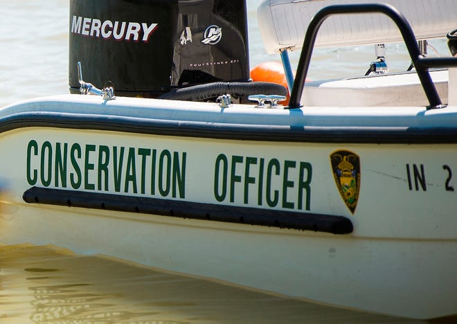 Indiana Department of Natural Resources boat