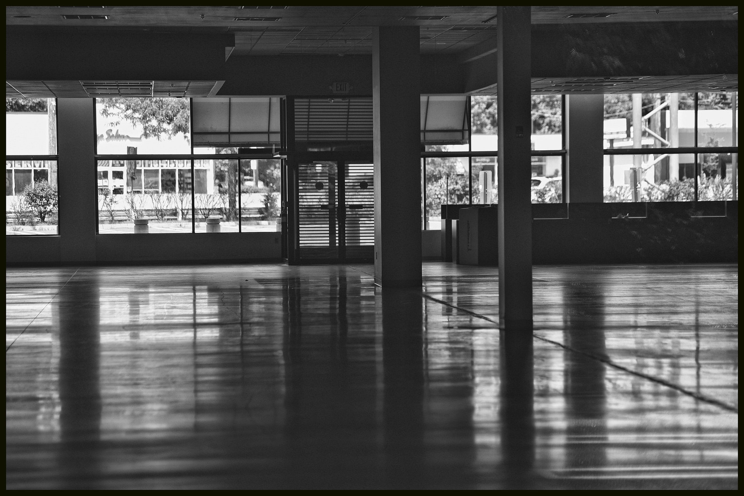 Inside photo of an empty store seen along Route 4 in Paramus on July 14.
