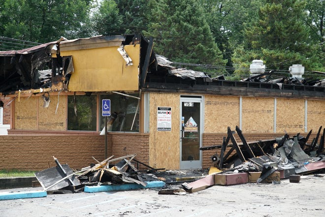 The Livonia Grill on Plymouth suffered major damage on Aug. 3, 2020 after a fire gutted its building.