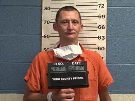 Gary Frederick Greiner Jr., 39, of Jackson Township