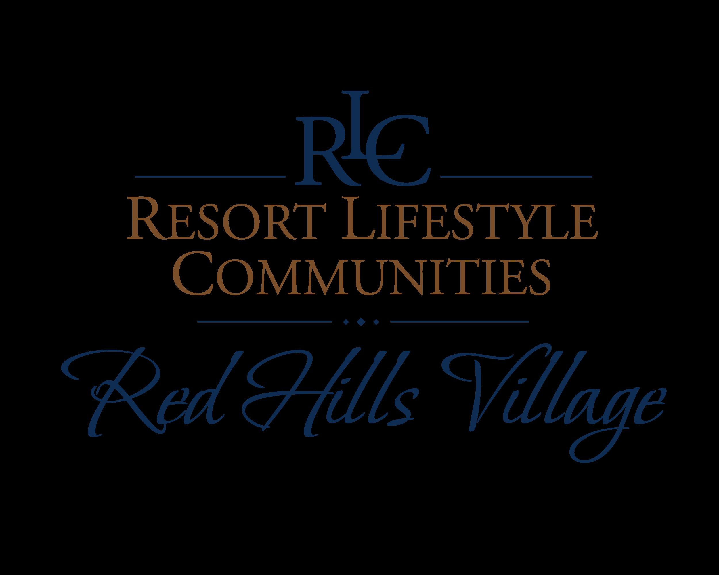 Red Hills Village Retirement Resort Logo