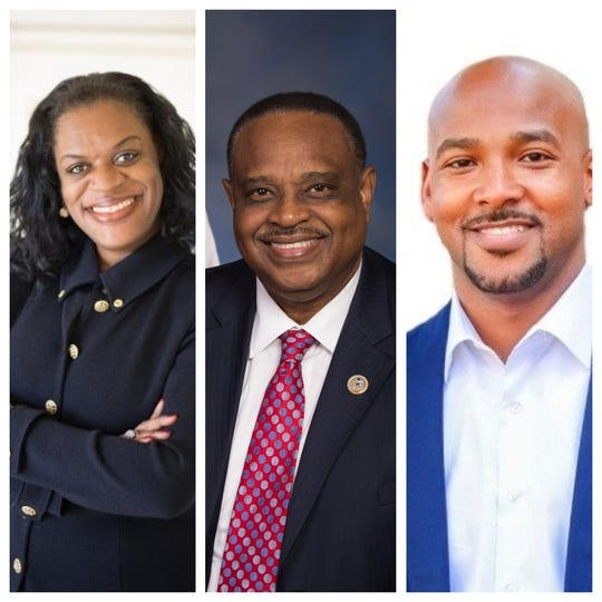 Candidates for U.S. House, Florida, District 5: LJ Holloway, Rep. Al Lawson and Albert Chester.