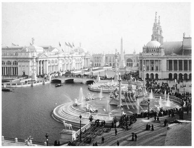 The White City exhibit at the 1893 Chicago World's Fair.