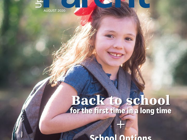 Upstate Parent cover August 2020