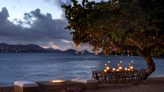 Quiet moments are plenty at The Ritz-Carlton, St. Thomas in the U.S. Virgin Islands.