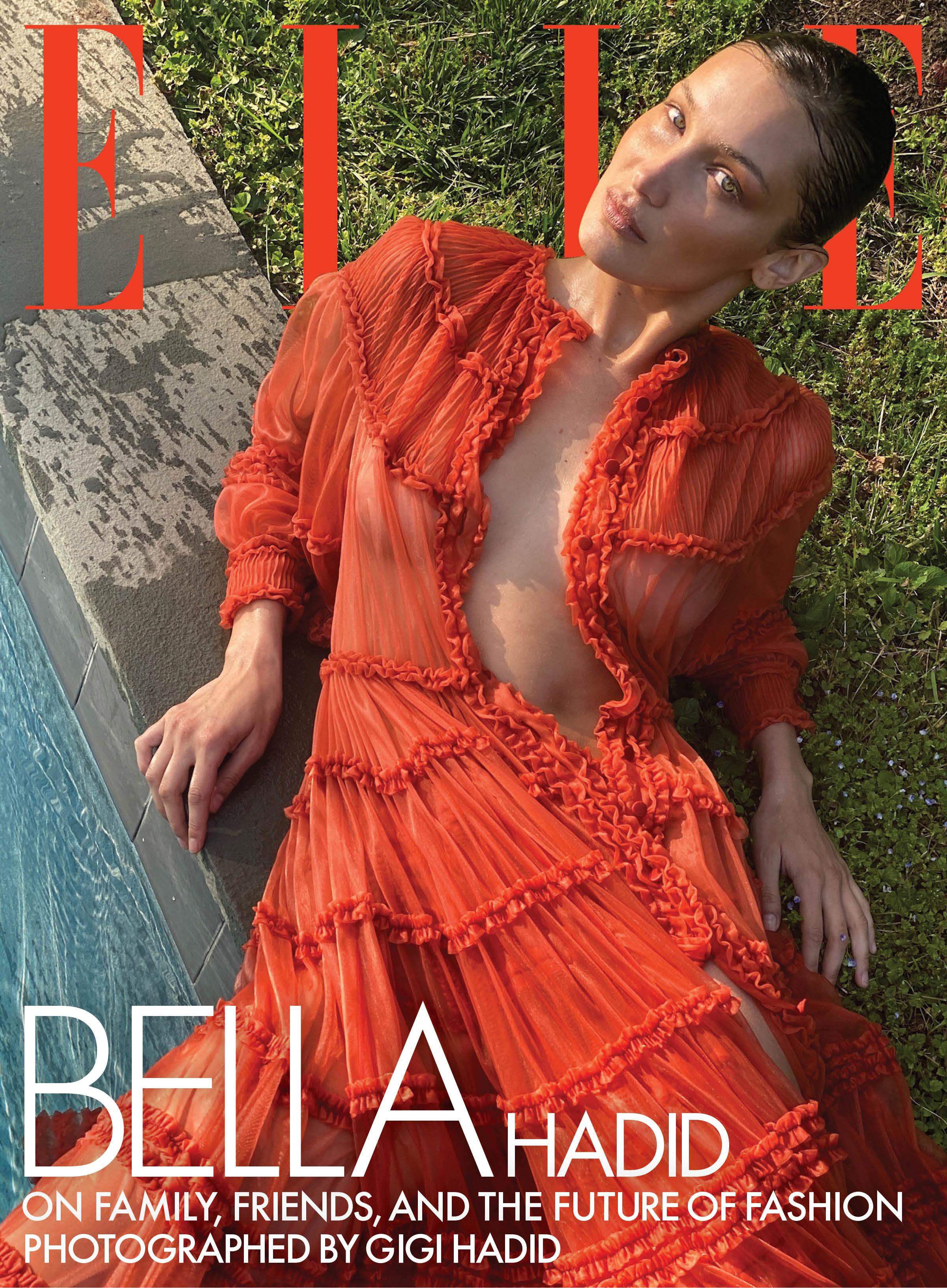 Bella Hadid calls for racial inclusivity in fashion industry, sister Gigi Hadid shoots cover photo