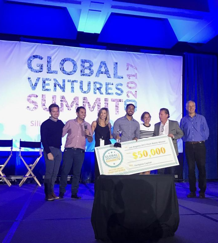 Trey Brown says he won a $50,000 pitch competition at the Global Ventures Summit in Los Angeles but never got the cash.
