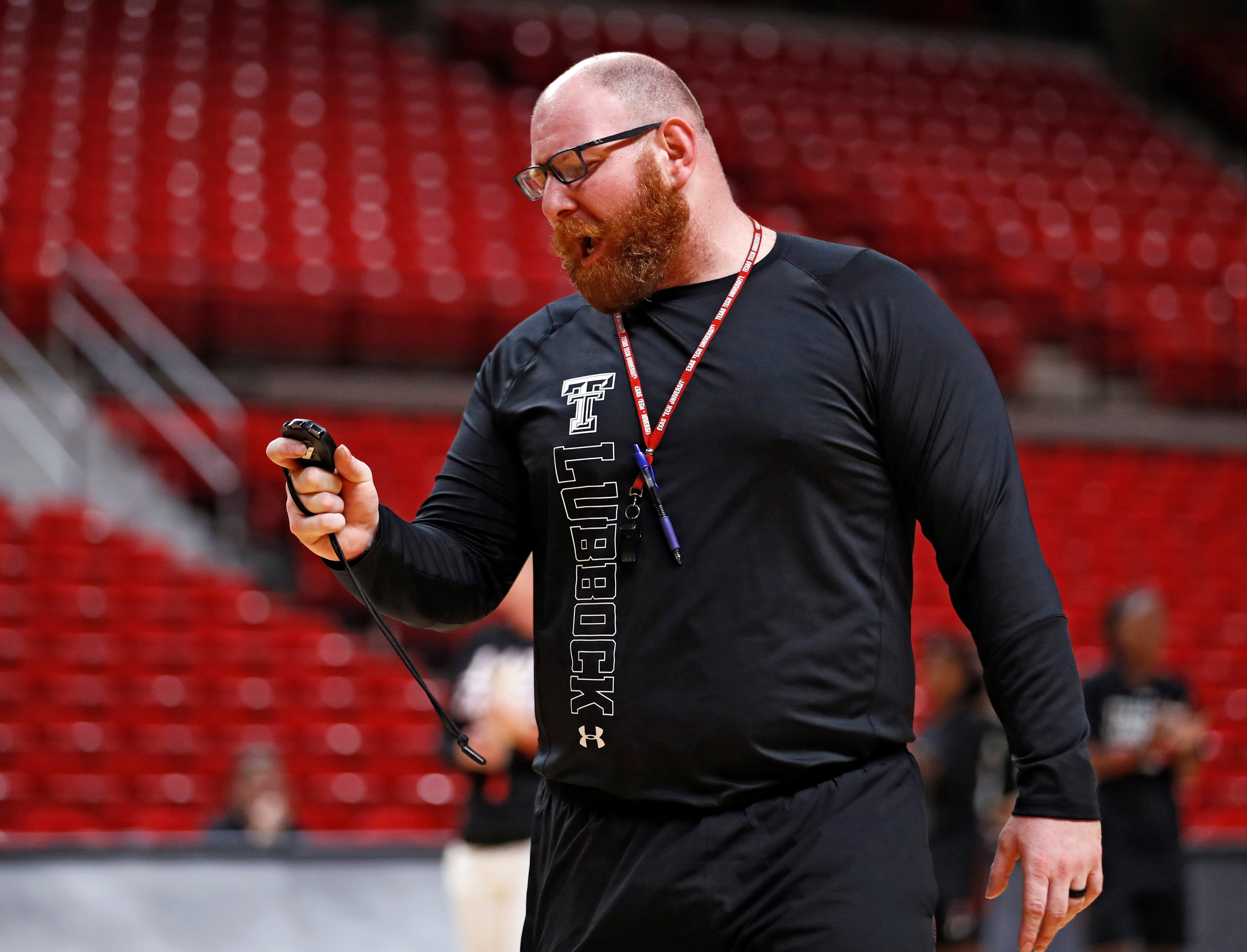 Ralph Petrella was the Texas Tech women's basketball strength and conditioning coach before resigning in March.