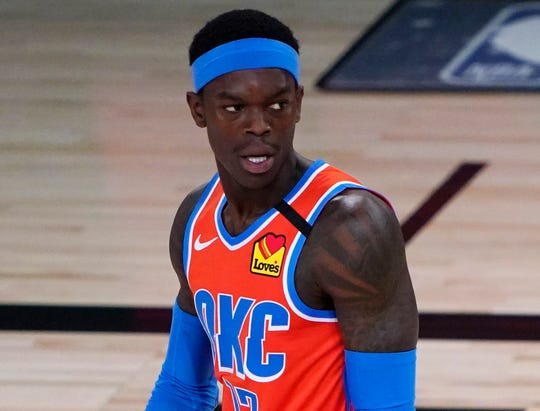 After returning to the NBA bubble, Dennis Schroder will have to complete at least four days of isolation.