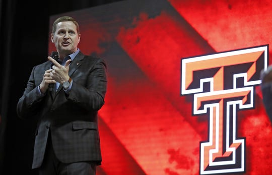 Kirby Hocutt has been Texas Tech athletics director since 2011.