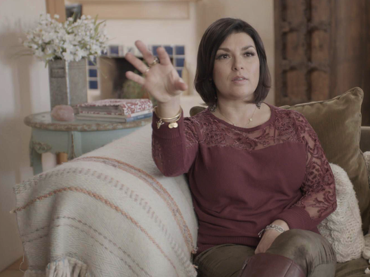 "Survivor Rachel Kay Benavidez appears in Lifetime's ""Surviving Jeffrey Epstein."""