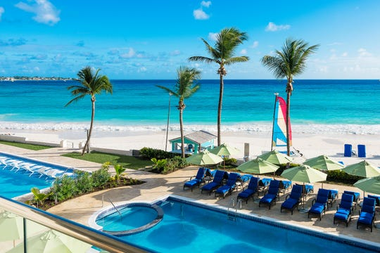 Sea Breeze Beach House in Barbados is a 122-room boutique all-inclusive hotel on the south coast.