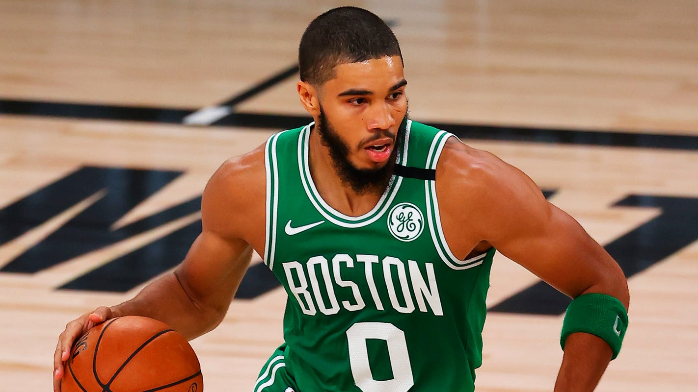Celtics' Jayson Tatum gets boost from special virtual fan in bounce-back performance