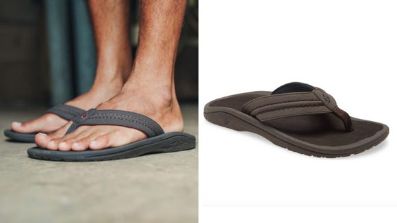Not your average flip flop.
