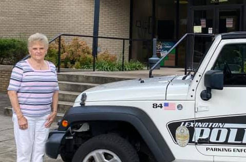 Carolyn Everhart has retired from the Lexington Police Department after 40 years of serving as the traffic officer in uptown Lexington.