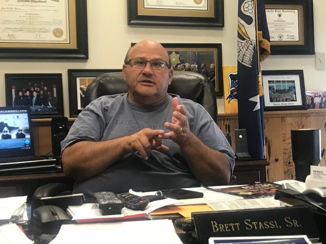 Sheriff' Brett Stassi plans to continue ongoing efforts to stop the increase in youth violence and remove illegal firearms and assault weapons across the streets.