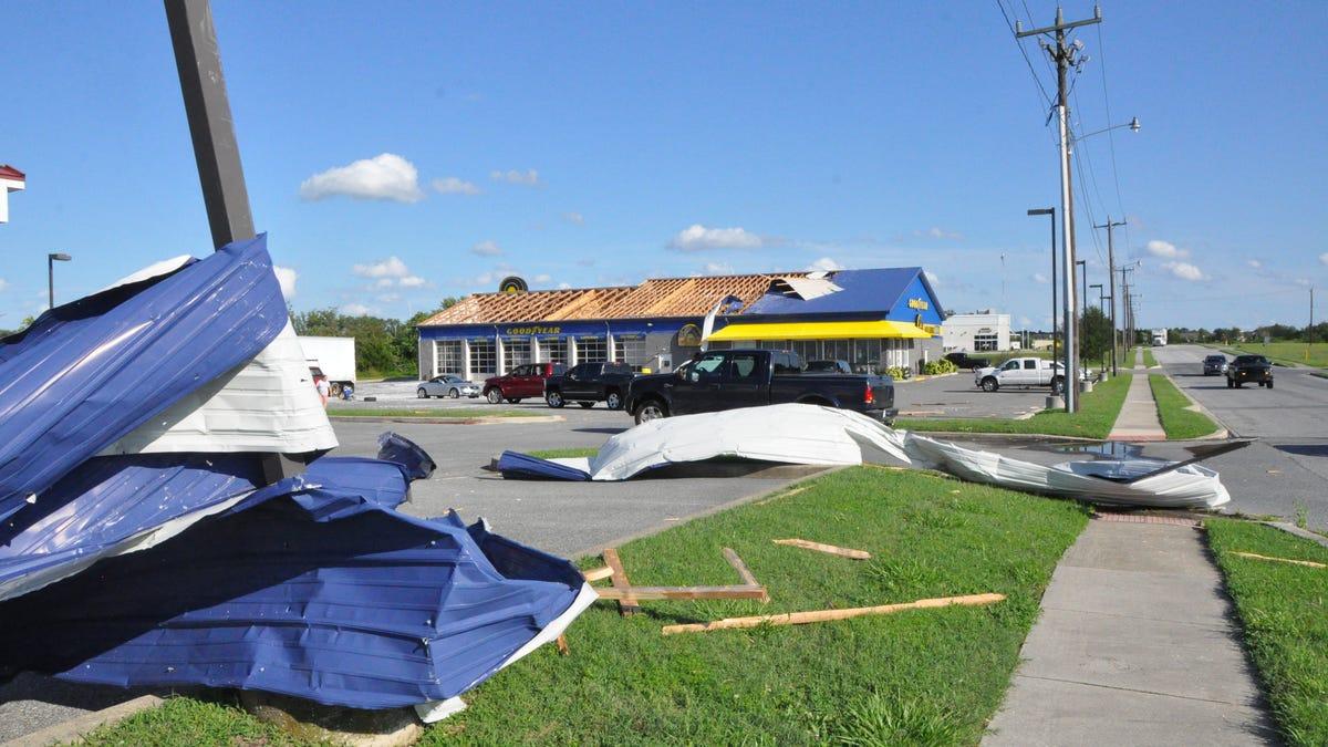 Tropical Storm Isaias Brings Reported Tornado To Smyrna Delaware