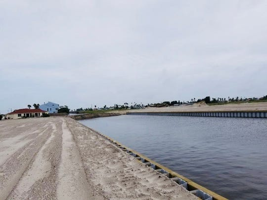 In May 2020, construction started on a 100-foot-wide and 2,500-foot-long canal on Mustang Island to run under the $18 millionPark Road 22 bridge the city of Corpus Christiplans to build. It's slated to be finished sometime in fall 2020.
