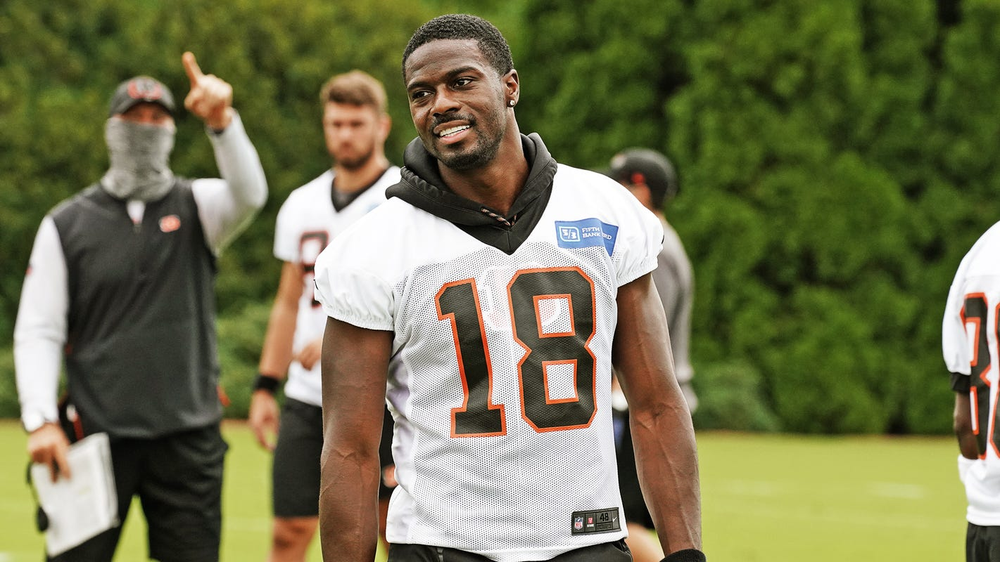 Zac Taylor: It was really good to see A.J. Green out there for the first day of practice