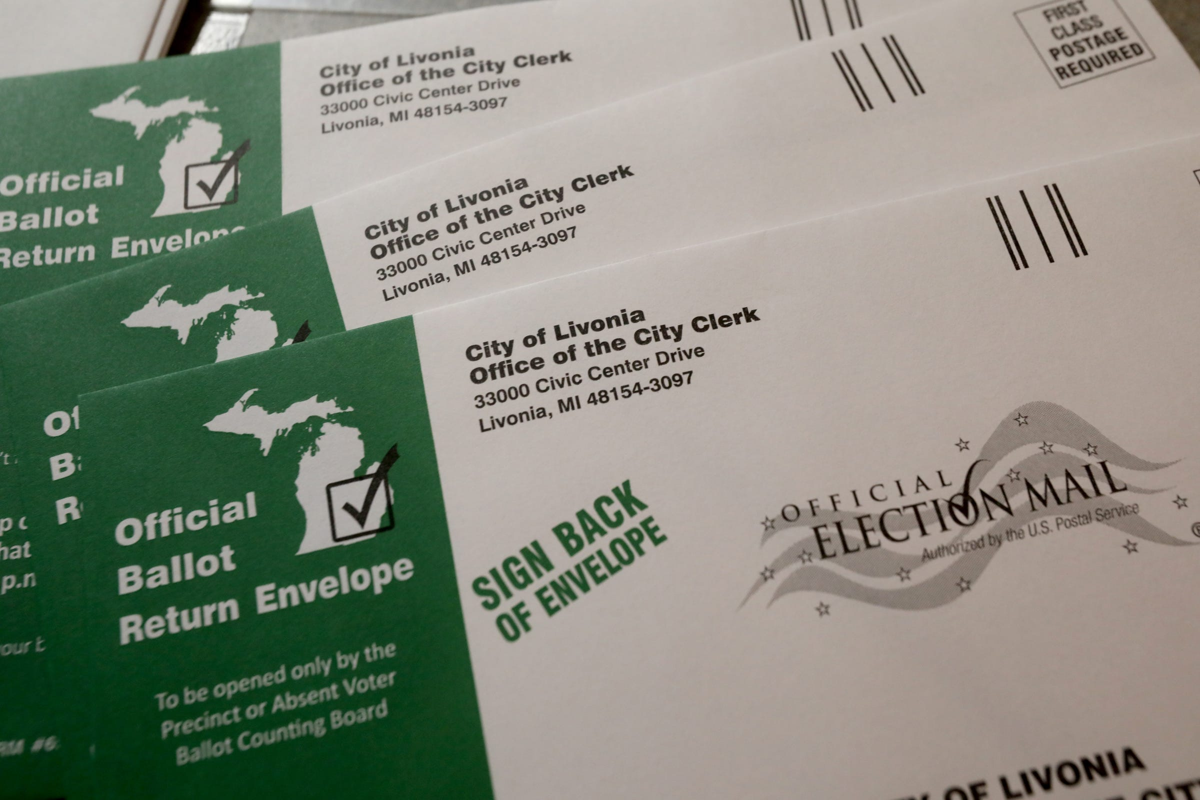 Change needed for November election absentee ballots...