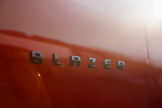 The badge for the Chevrolet Blazer. Bianca Iacopelli did not design this one, but she is now working on the badges for future Chevy SUVs.