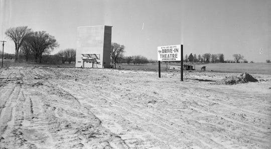 An image of the long-gone Coralville drive-In theater c. 1950. Attributed to Bill Jack Rodgers.