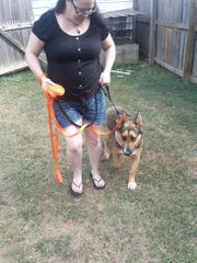 Carolyn Duffey and Ayah, her PTSD support dog, are ready to share their training secrets with other support dogs.