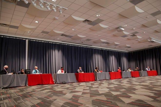 West Lafayette Community School Corporation board of trustees meeting, Monday, Aug. 3, 2020 in West Lafayette.
