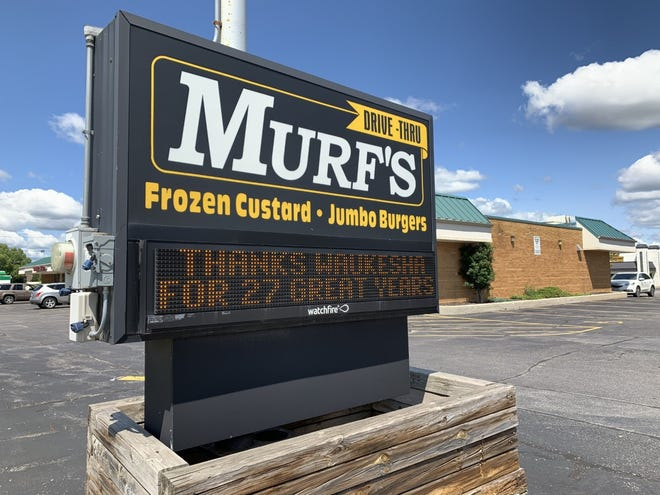 Murf's Frozen Custard and Jumbo Burgers closed their Waukesha location permanently on Aug. 4 after 27 years of service.