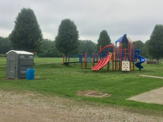 Among the improvements that would be made using funds from the proposed Granville Recreation District fall levy would be bringing pavement and restrooms to Raccoon Valley and other GRD parks.