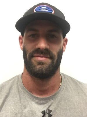Evangel football coach Garrett Kreamer