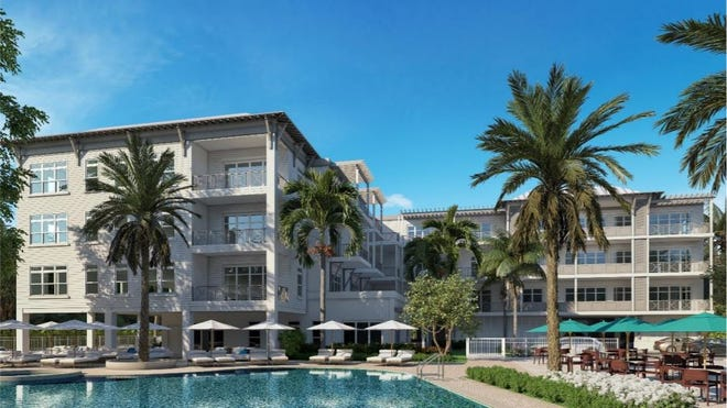 Sailfish Cove, luxury condos, is planned for West Seminole Street in downtown Stuart.