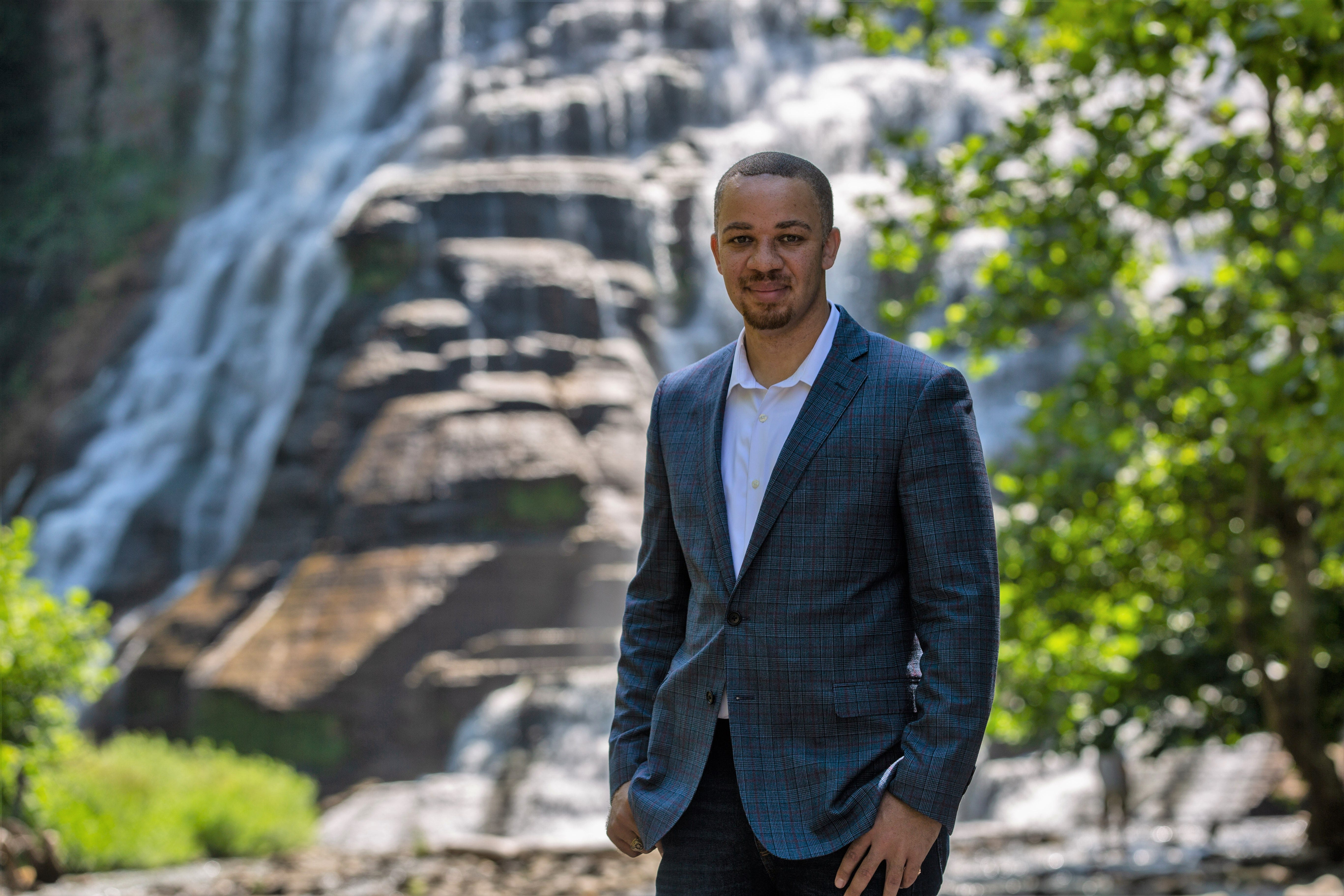 Donathan Brown, who works as the assistant provost and assistant vice president for faculty diversity and recruitment at the Rochester Institute of Technology, is also the co-founder of Adirondack Diversity Solutions.