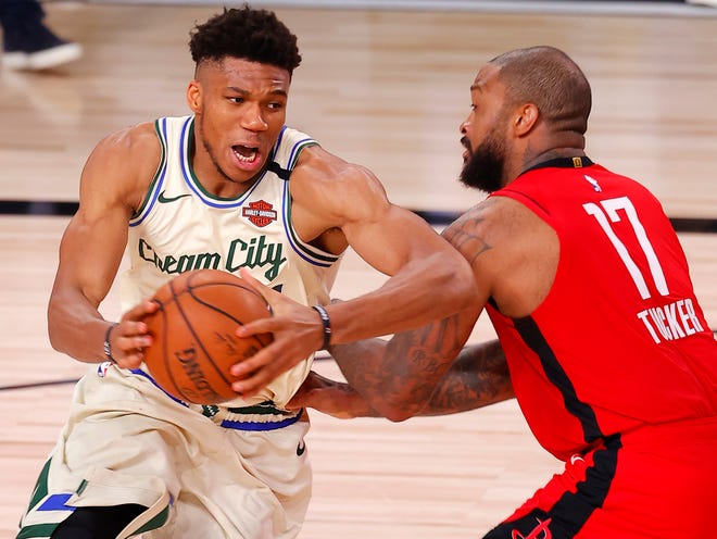 Giannis Antetokounmpo and the Bucks are closing in on the top seed in the Eastern Conference.