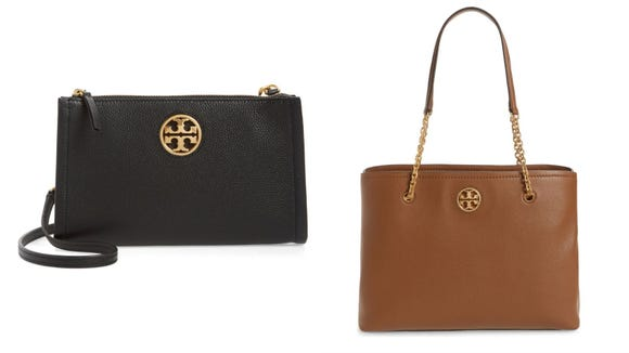 A Tory Burch bag is always in style.