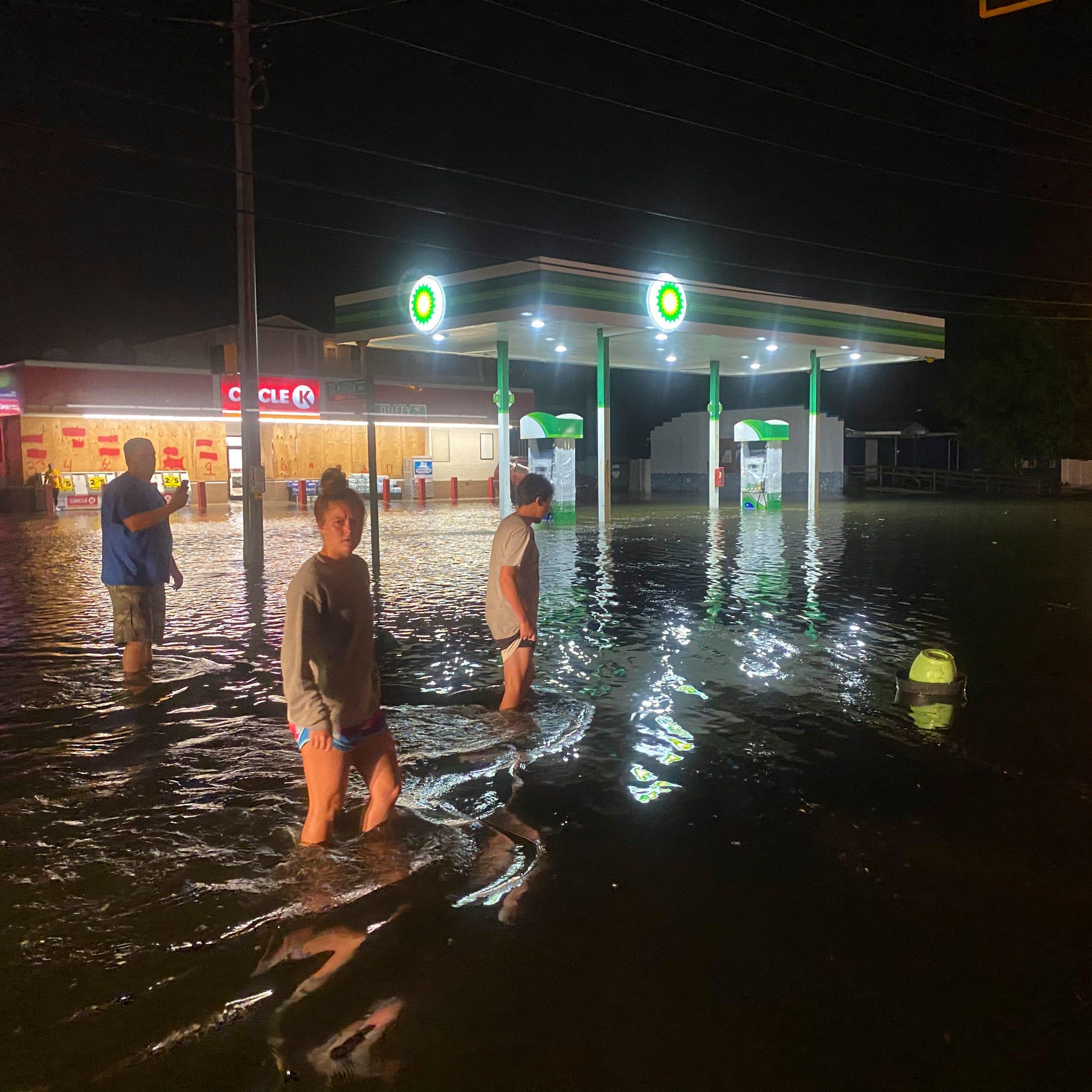 Hurricane Isaias Track Storm Makes Landfall In North Carolina