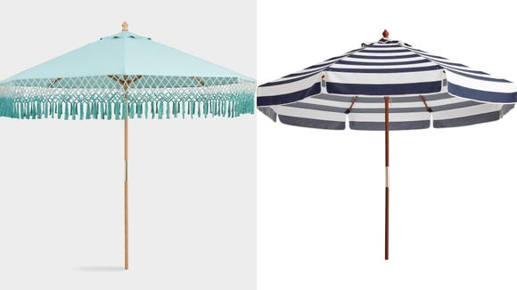 Beat the heat under one of these stylish umbrellas.