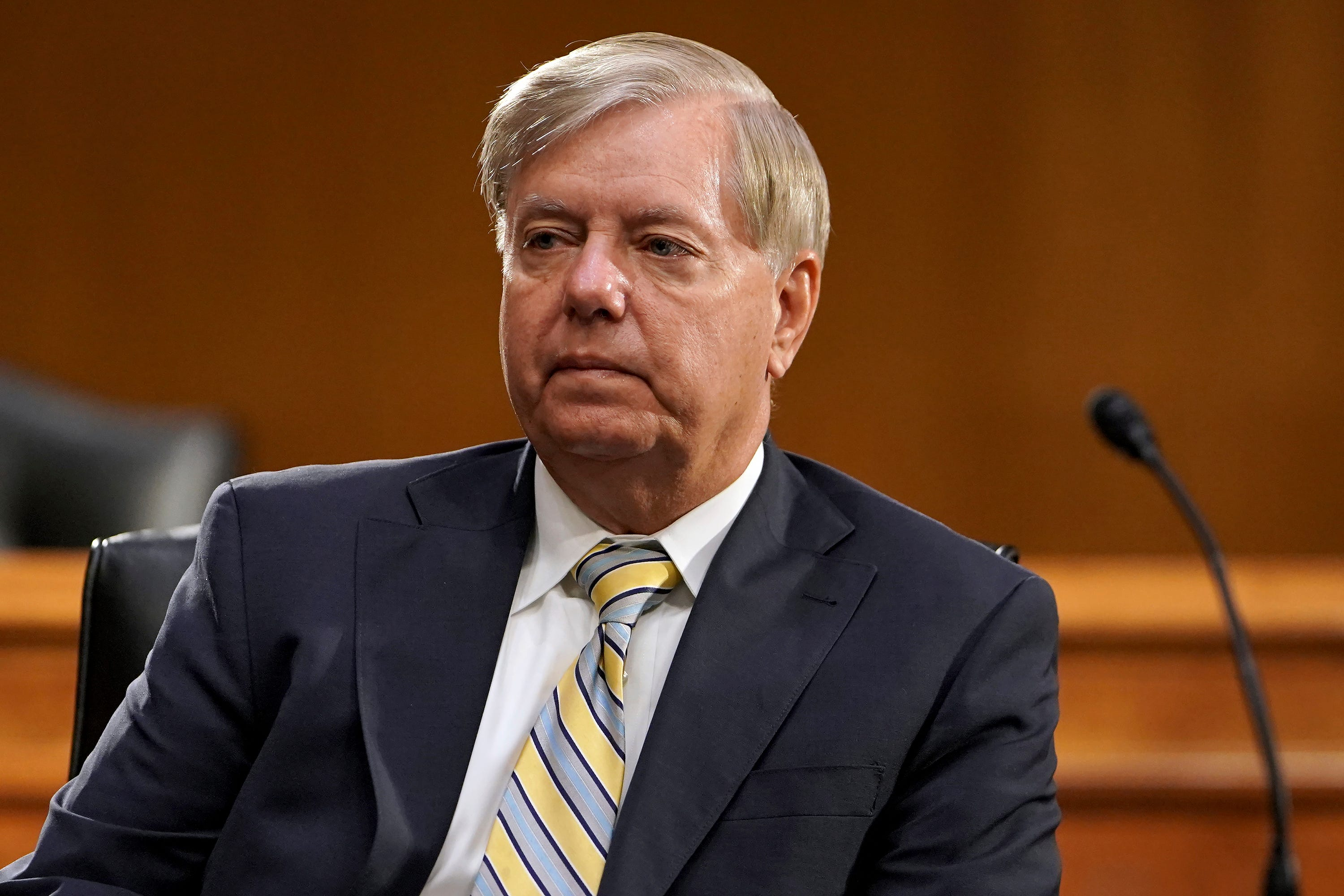 Sen. Lindsey Graham holds one-point lead in tight SC race for reelection, poll finds