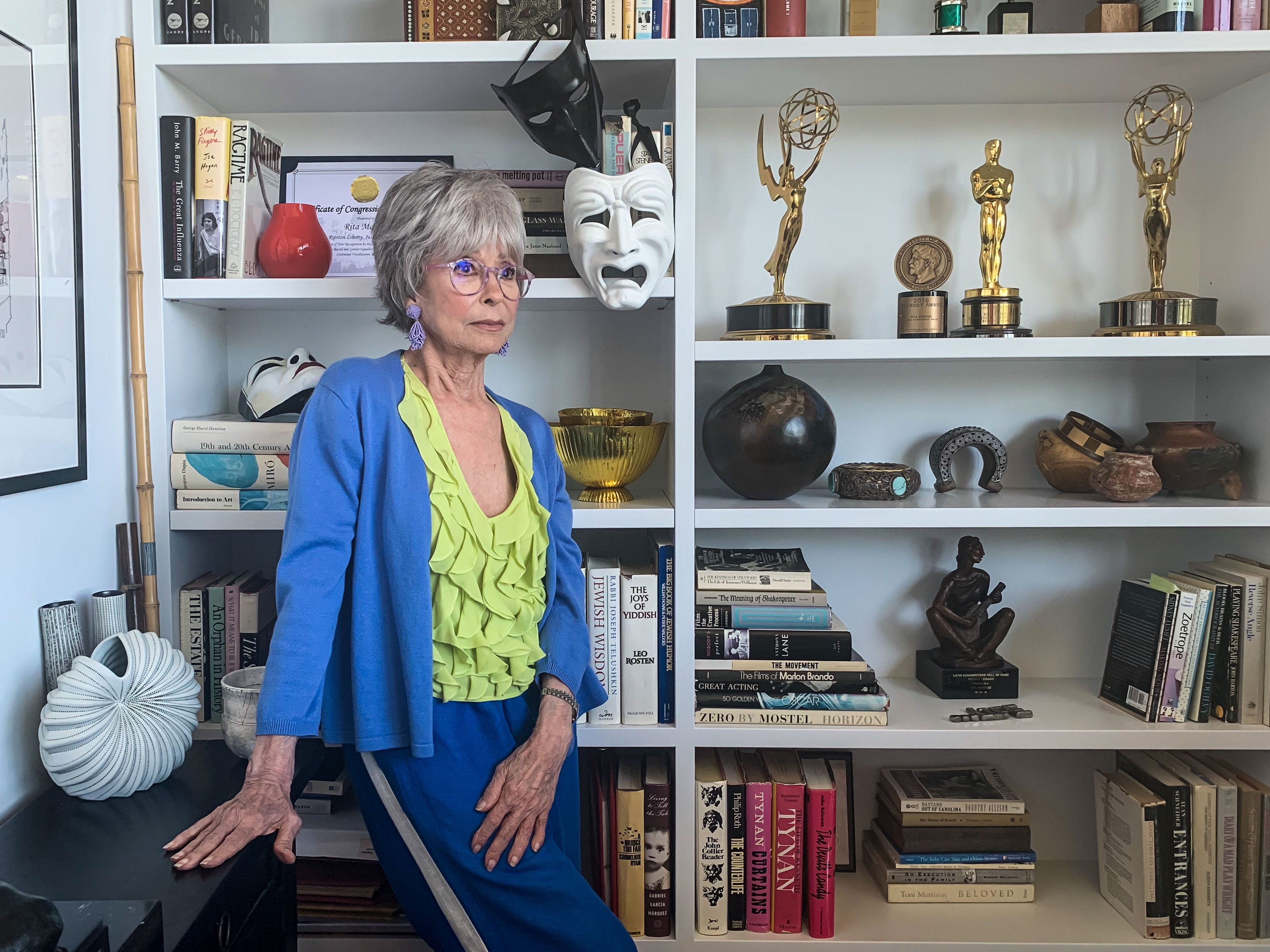 Rita Moreno says being at the March on Washington in 1963 was one of the proudest moments of her life.