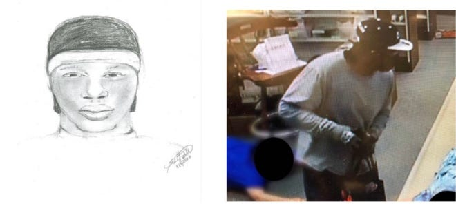 The Ardmore Police Department has developed a sketch of the suspect in an armed robbery at a local pharmacy on Tuesday. Anyone who can identify the man is urged to contact Detective Landon Gary at (580) 221-2515.