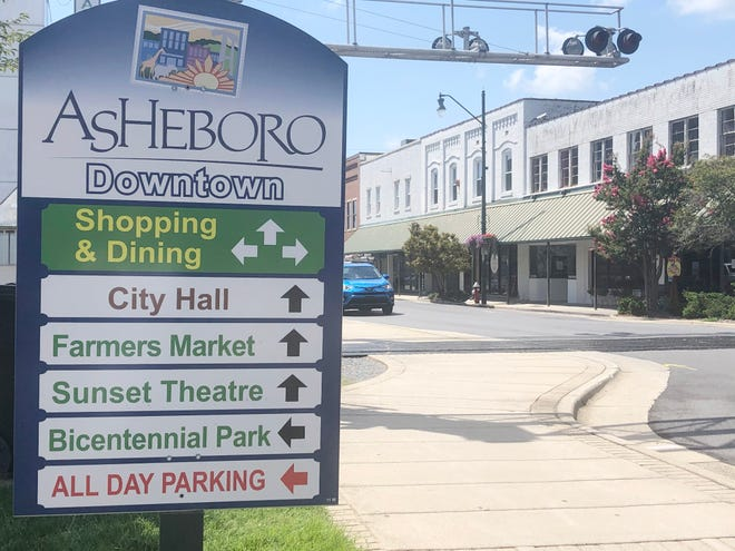 Way-finding signs are one way downtowns can improve their image and their helpfulness.
