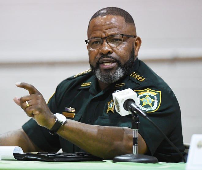 Clay County Sheriff Darryl Daniels.