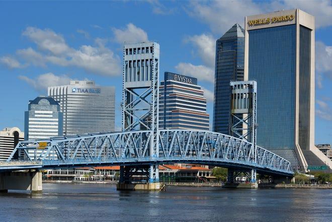 Downtown Jacksonville. [Bob Self/Florida Times-Union]
