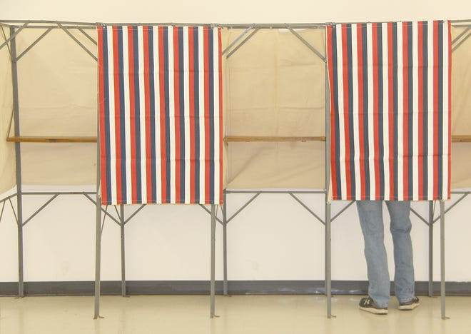 Voters of all ages marked their opinions at Kiowa County polling stations on Aug. 4 in the primary election.