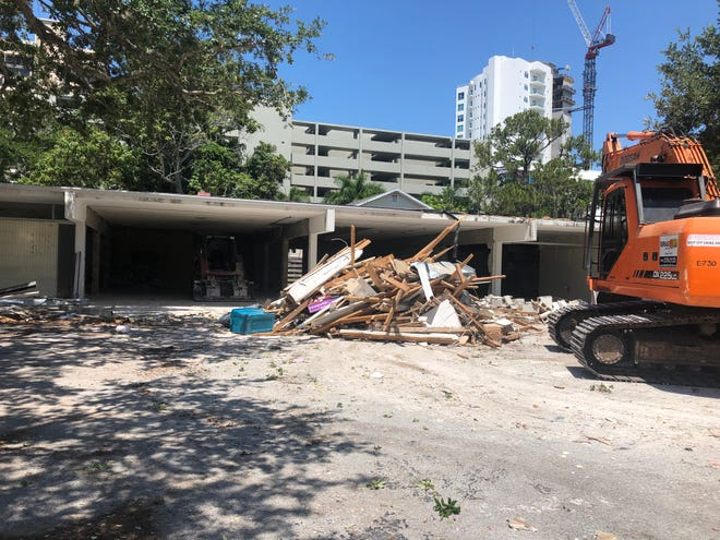 The Child Protection Center in Sarasota has demolished a hazardous building with community contributions of more than $29,000. [Photo provided]