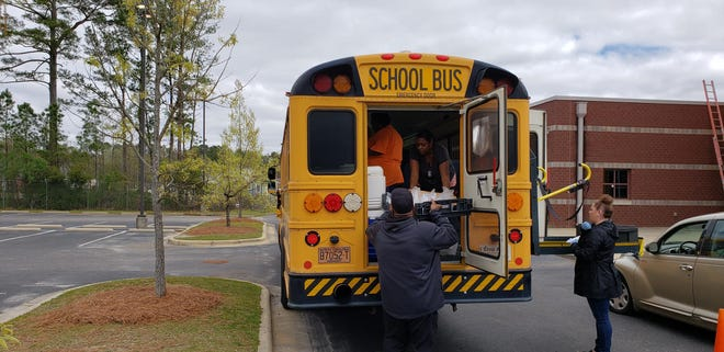 This fall, Cumberland County Schools plans to use buses equipped with WiFito help serve as access points in communities with high levels of limited connectivity, officials said.