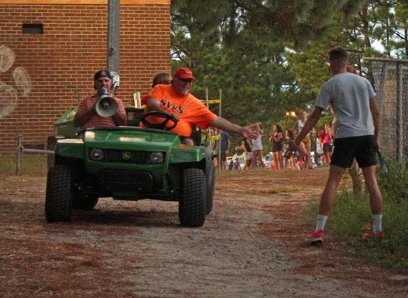 Autry, who created the Jungle Run in 2002, has seen the event grow from 16 teams to more than 50. The Hope Mills native has coached multiple state champions and state title teams.