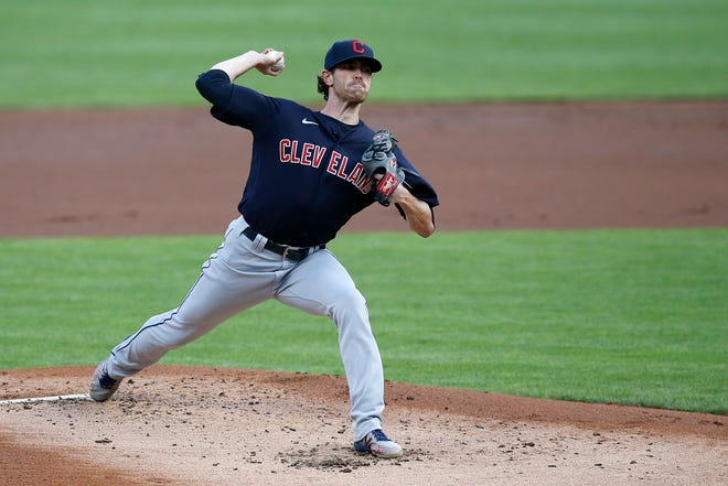 Cleveland's Shane Bieber has 35 strikeouts in three games.