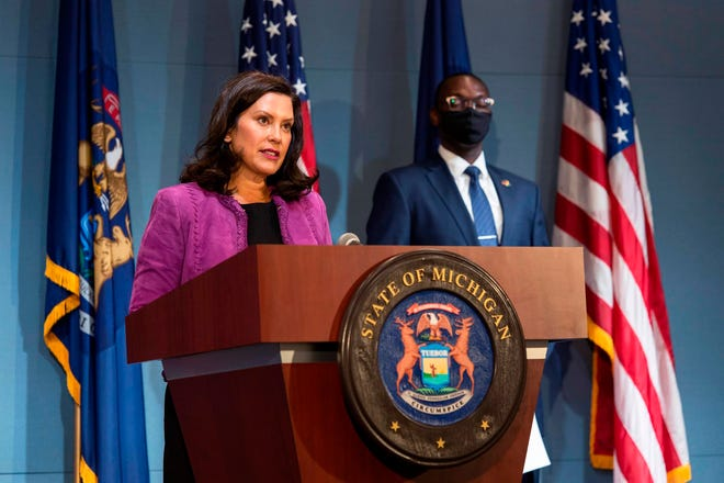 Editorial Whitmer Should Face The Press Mask To Mask
